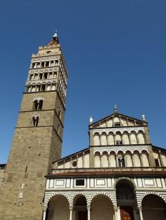 Duomo San Zeno, Pistoia, historiske senter, Toscana, Italia