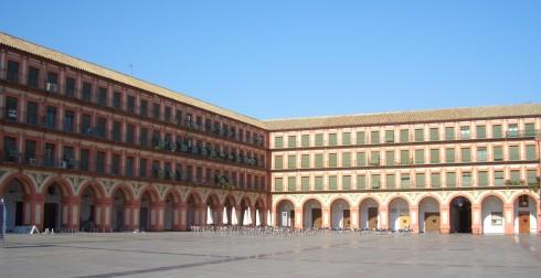 Plaza de la Corredera, Cordoba, katedral-moskéen La Mezquita, Guadalquivir, Unescos liste over Verdensarven, historisk bydel, gamleby, Andalucia, Spania