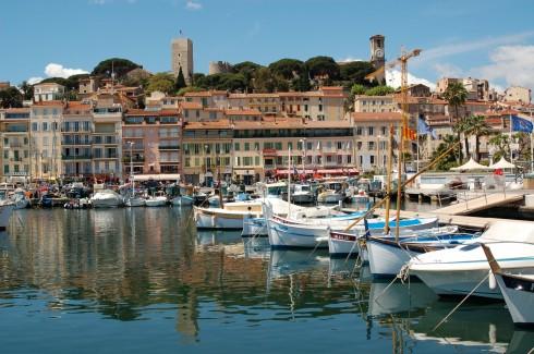 Cannes Vieux ville, gamlebyen, middelalder, Sør-Frankrike, Frankrike