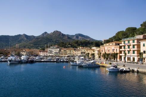 Porto Azzurro, Elba, Toscana, Midt-Italia, Italia