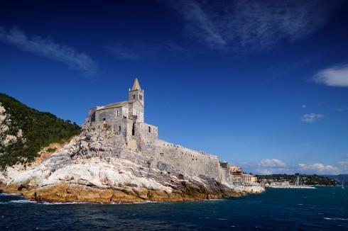 San Pietro, Cinque Terre, Portovenere, Cinque Terre, Liguria, Nord-Italia, Italia