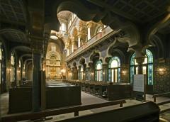Den spanske synagogen, Praha, Stare Mesto, Unesco Verdensarven, middelalder, markedsplassen, Karlsbroen, Böhmen, Tsjekkia