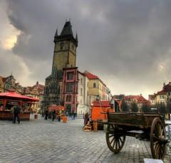 Rådhuset, Praha, Stare Mesto, Unesco Verdensarven, middelalder, markedsplassen, Karlsbroen, Böhmen, Tsjekkia