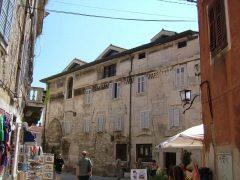 Pula, gamlebyen, historisk bysenter, romertid, middelalder, amfiteater, Istria, Kroatia