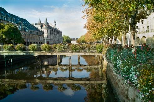 Quimper, Bretagne, Vieux Quimper, gamlebyen, historisk bysenter, bindingsverk, Vest-Frankrike, Frankrike