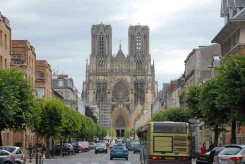 Reims, Cathédrale Notre Dame, middelalder, gotikken, Unescos liste over Verdensarven, Nord-Frankrike, Frankrike