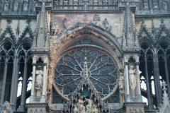 Reims, rosevinduet, Cathédrale Notre Dame, middelalder, gotikken, Unescos liste over Verdensarven, Nord-Frankrike, Frankrike