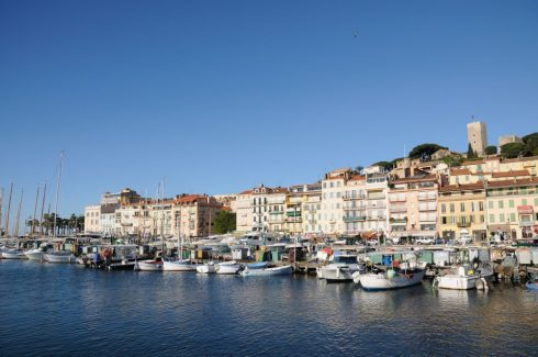 Cannes, Cote 'd'Azur, Provence, Vieux ville, gamlebyen, middelalder, Sør-Frankrike, Frankrike