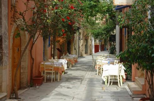 Rethymnon, gamleby, historisk, Kreta, Hellas