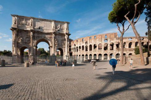Roma, Konstantins triumfbue, Forum, Roma, Unescos liste over Verdensarven, Roma, Midt-Italia, Italia