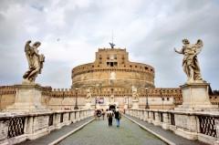 Castel Sant'Angelo, Roma, Unescos liste over Verdensarven, romerriket, Forum, antikken, historiske bydeler, gamlebyen, Trastevere, den evige stad, Tiber, Vatikanet, Panthon, Roma, Midt-Italia, Italia