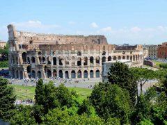 Colosseum, Roma, Unescos liste over Verdensarven, romerriket, Forum, antikken, historiske bydeler, gamlebyen, Trastevere, den evige stad, Tiber, Vatikanet, Panthon, Roma, Midt-Italia, Italia