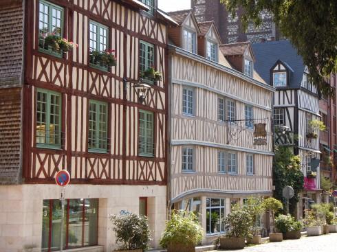 Eglise St.-Maclou, Rouen, bindingsverk, Vieux Ville, Unescos liste over Verdensarven, Normandie, Vest-Frankrike, Frankrike