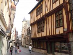Rouen, bindingsverk,Vieux Ville, Unescos liste over Verdensarven, Normandie, Vest-Frankrike, Frankrike