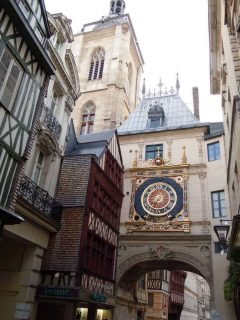 Gros Horloge, Rouen, bindingsverk, Vieux Ville, Unescos liste over Verdensarven, Normandie, Vest-Frankrike, Frankrike
