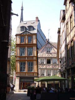 Rouen, bindingsverk, Vieux Ville, Unescos liste over Verdensarven, Normandie, Vest-Frankrike, Frankrike