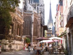 Eglise St Maclou, Rouen, bindingsverk, Vieux Ville, Unescos liste over Verdensarven, Normandie, Vest-Frankrike, Frankrike