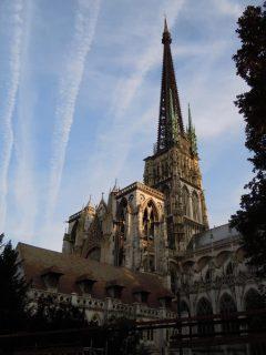 Cathedrale Notre Dame, Rouen, bindingsverk, Vieux Ville, Unescos liste over Verdensarven, Normandie, Vest-Frankrike, Frankrike