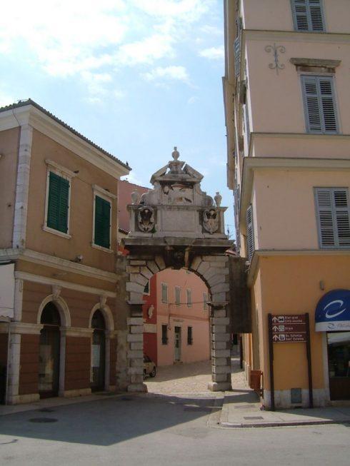 Rovinj, gamlebyen, historisk bysenter, middelalder, Adriaterhavet, Istria, Kroatia