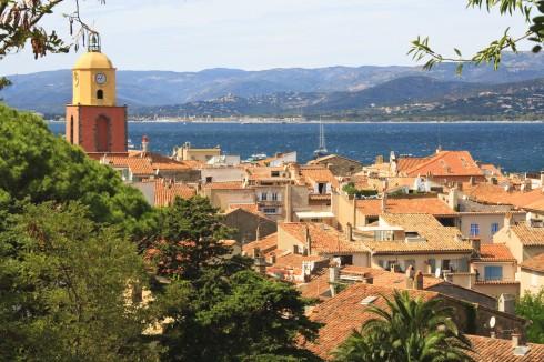 Saint Tropez, Provence, Cote d'Azur, Sør-Frankrike, Frankrike