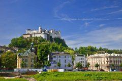 Borgen Hohensalzburg, Salzburg, Altstadt, Mozart, Unescos liste over Verdensarven, Tyrol og Salzburg, Østerrike