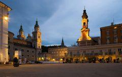Residenz-platz, Salzburg, Altstadt, Mozart, Unescos liste over Verdensarven, Tyrol og Salzburg, Østerrike