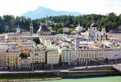 Salzburg, Altstadt, Mozart, Unescos liste over Verdensarven, Tyrol og Salzburg, Østerrike