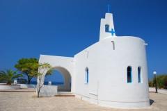 kirke, samos, hellas
