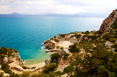 Hera, helligdom, Samos, Hellas