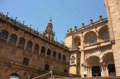 Praza das Praterias, Katedralen Santiago de Compostela, Unescos liste over Verdensarven, Galicia, Nord-Spania, Spania