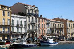 Séte, Viuex ville, havnen, kanalene, Canal du Midi, gamlebyen, middelalder, Sør-Frankrike, Frankrike