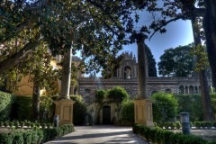 Real Alcazar, hager, Sevilla, Unescos liste over Verdensarven, historisk bydel, gamleby, Andalucia, Spania