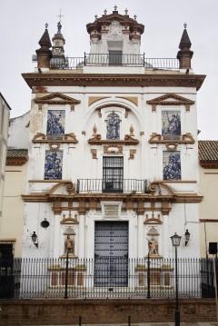 Hospital de la Caridad , Sevilla, Catedral de Santa María de la Sede, Guadalquivir, Unescos liste over Verdensarven, historisk bydel, gamleby, Andalucia, Spania