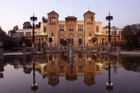 Museo de Artes y Costumbres Populares, Sevilla, Guadalquivir, Unescos liste over Verdensarven, historisk bydel, gamleby, Andalucia, Spania
