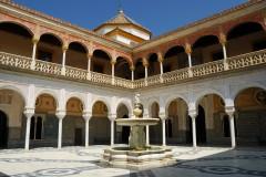 Renessansepalasset Casa de Pilatos, Sevilla, Unescos liste over Verdensarven, historisk bydel, gamleby, Andalucia, Spania
