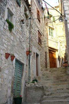 Sibenik, Adriaterhavet, gamlebyen, historisk bysenter, Unescos liste over Verdensarven, middelalder, renessanse, Zadarkysten og øyene, Kroatia