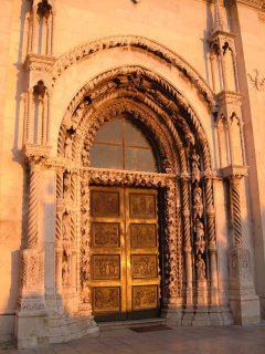 St Jacob, Sibenik, Adriaterhavet, gamlebyen, historisk bysenter, Unescos liste over Verdensarven, middelalder, renessanse, Zadarkysten og øyene, Kroatia