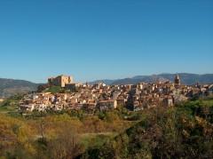 Castelbuono, Sicilia, antikken, normannere, Sør-Italia, Italia