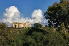 Hera-tempelet, Selinunte, Sicilia, antikken, greske templer, dorisk tempel, Sør-Italia, Italia