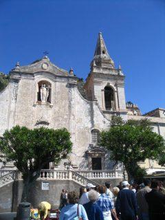 San Guiseppe, Taormina, Sicilia, antikken, Sør-Italia, Italia