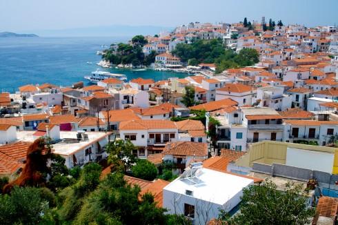 Skiathos by, Skiathos, Hellas,