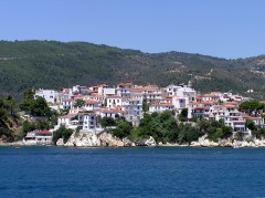 Skiathos by, Hellas