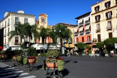 Sorrento, Napoli-bukten, Campania, Sør-Italia, Italia