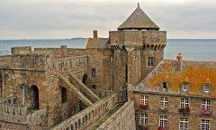 St Malo, Bretagne, gamlebyen, historisk bysenter, Vest-Frankrike, Frankrike