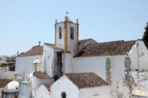 Igreja do Santiago, Tavira, Algarvekysten, Sør-Portugal, Portugal