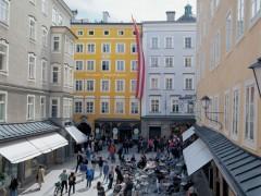 Getreidegasse, Mozarteum, Salzburg, Altstadt, Mozart, Unescos liste over Verdensarven, Tyrol og Salzburg, Østerrike