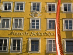 Wolfgang Amadeus Mozart, Mozarteum, Salzburg, Altstadt, Unescos liste over Verdensarven, Tyrol og Salzburg, Østerrike