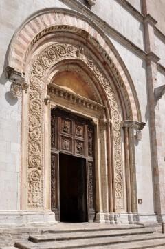 Duomo, Todi, middelalder, Umbria, Midt-Italia, italia