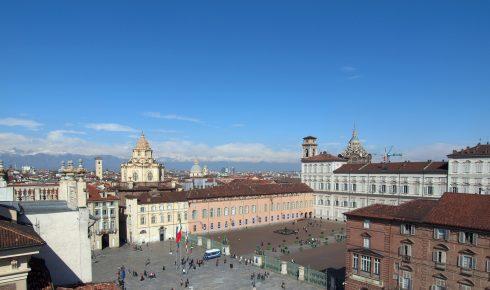 Piazza Castello, San Lorenzo, Palazzo Reale, Torino, Valle d'Aosta og Piemonte, Unescos liste over Verdensarven, barokk-arkitektur, Nord-Italia, Italia