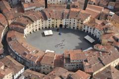 Lucca, renessanse, middelalder,historisk bydel, gamleby, Toscana, Midt-Italia, Italia
